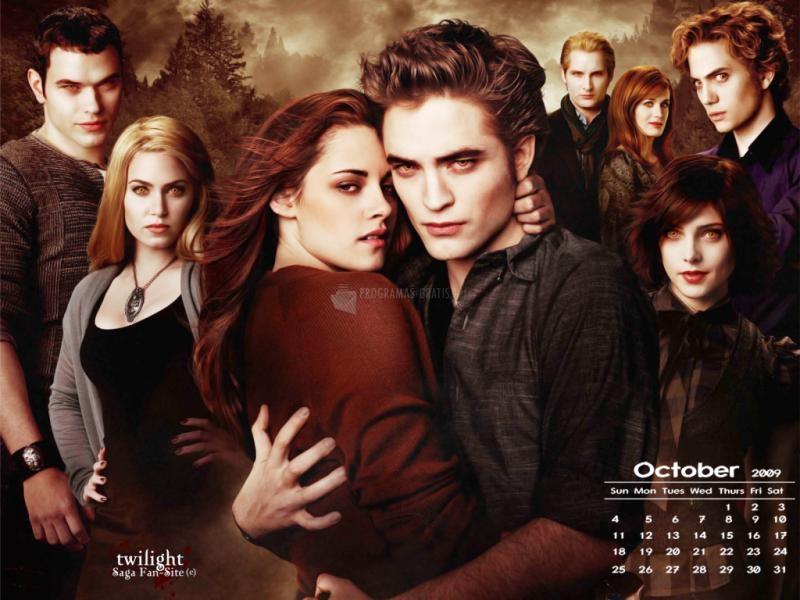 Pantallazo Luna nueva: Edward y Bella