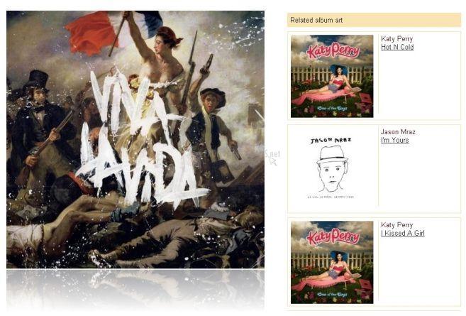 Pantallazo Album-Cover-Art.org