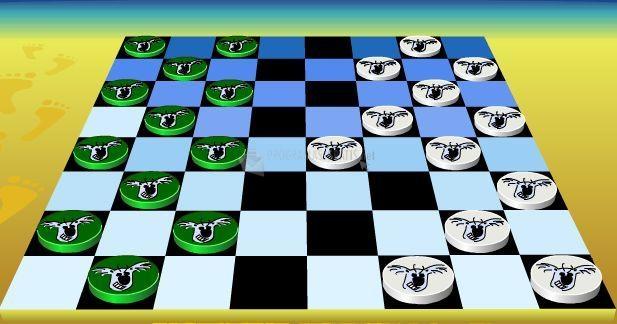 Pantallazo Koala Checkers