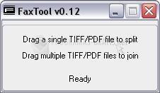 Pantallazo Fax Tool