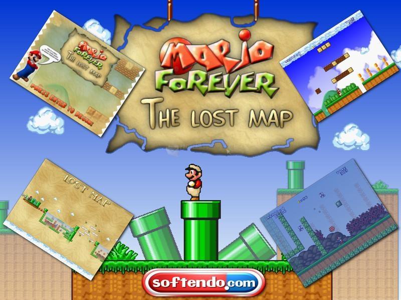 Pantallazo Super Mario 3: Mario Forever Lost Map