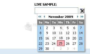 Pantallazo Tigra Calendar
