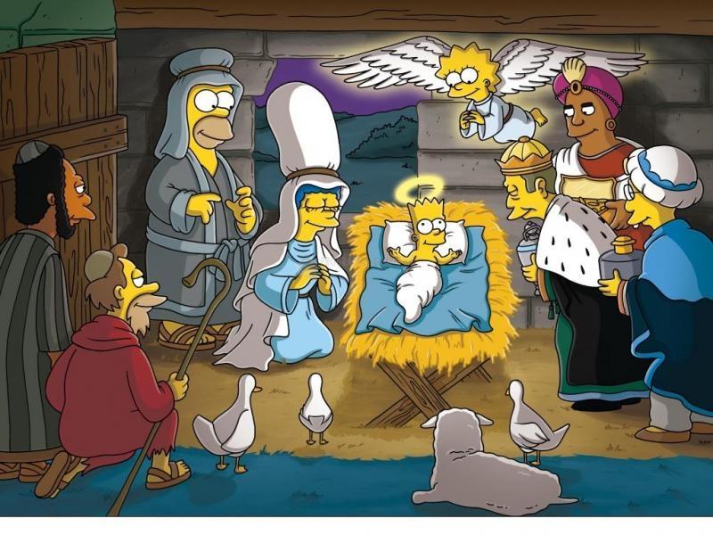 Pantallazo Simpsons Xmast