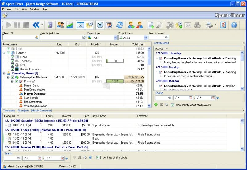 Pantallazo Xpert-Timer Pro