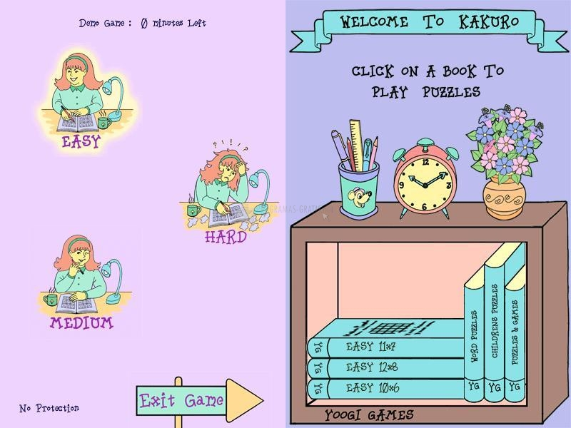 Pantallazo Kakuro Softbook