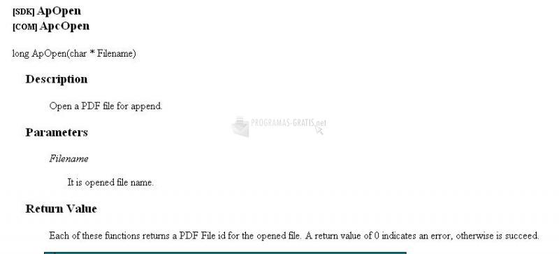Pantallazo Tiff to PDF COM/SDK