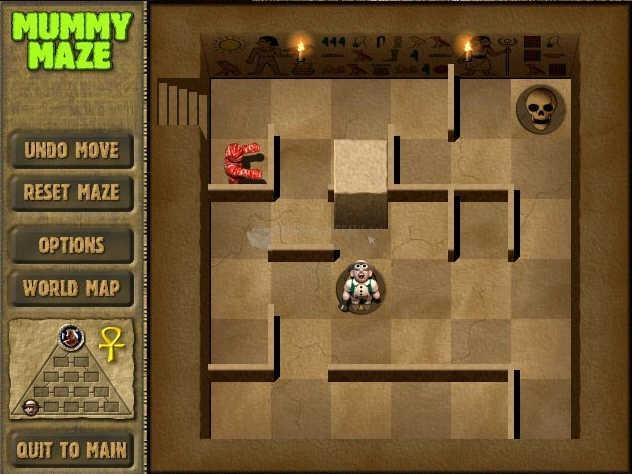 Pantallazo Mummy Maze