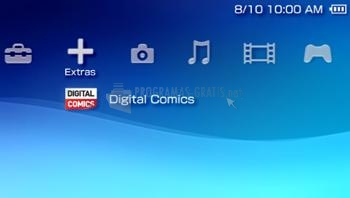 Pantallazo PSP System Software Update