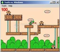 Pantallazo Yoshi vs Windows
