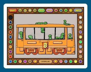 Pantallazo Coloring Book 6: Number Trains
