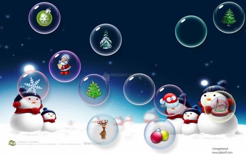 Pantallazo 3D Flow Bubbles Screensaver