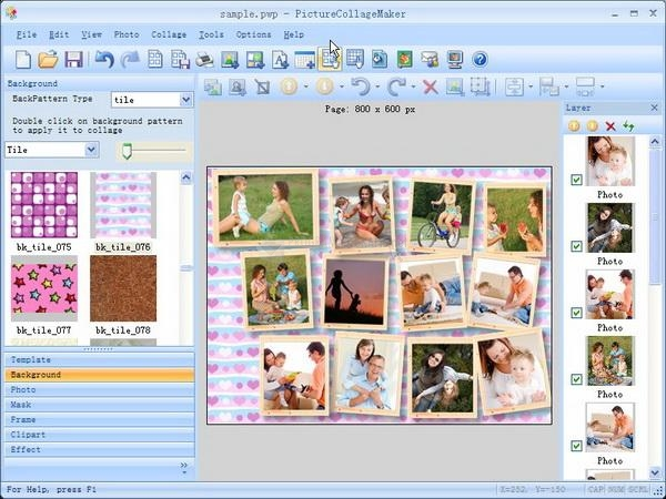 Pantallazo Picture Collage Maker Pro