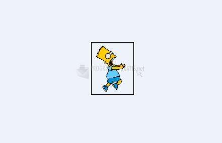 Pantallazo Bart huyendo