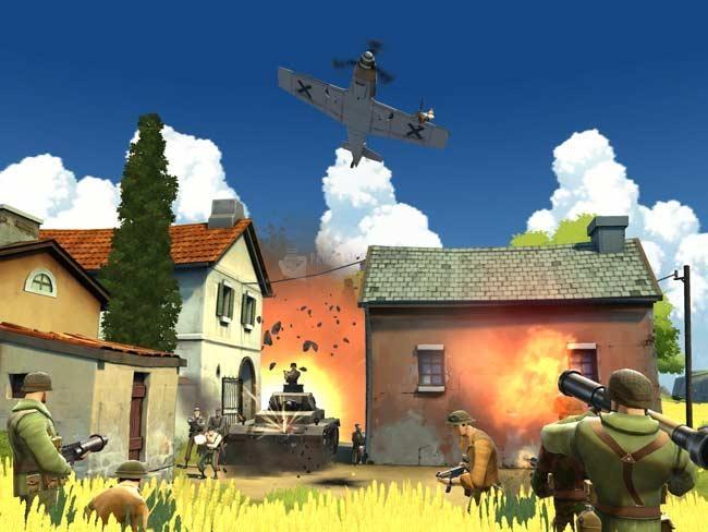 Pantallazo Battlefield Heroes