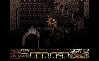 Pantallazo La Abadía del Crimen 32 bits