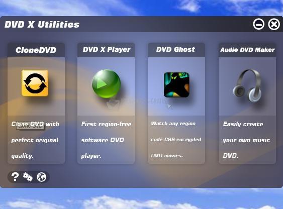 Pantallazo DVD X Utilities