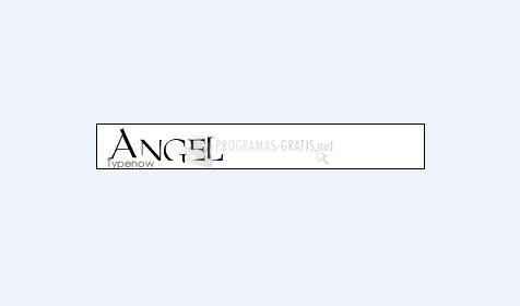 Pantallazo Angel Font