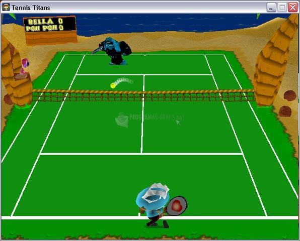 Pantallazo Tennis Titans