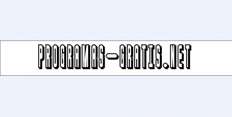 Pantallazo Blaster Font