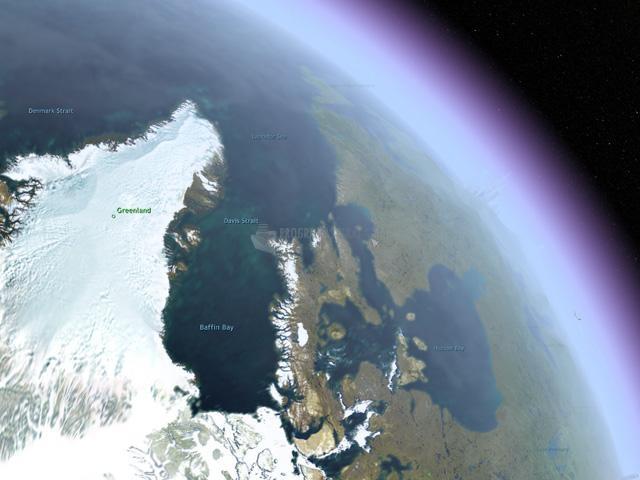 Pantallazo Earth 3D Screensaver