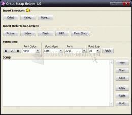 Pantallazo Orkut Scrap Helper