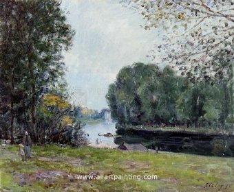 Pantallazo Alfred Sisley Painting