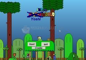 Pantallazo Super Yoshi World