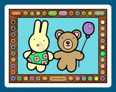 Pantallazo Coloring Book 7: Toys