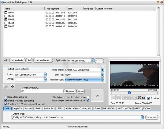 ripeadores de dvd a vcd para