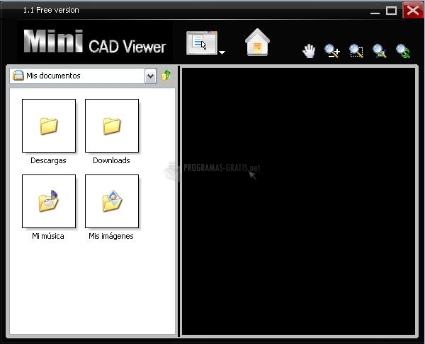 Pantallazo Mini CAD Viewer