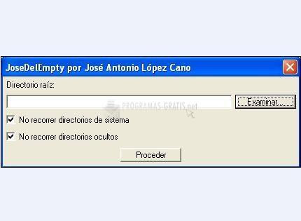 Pantallazo Jose Del Empty