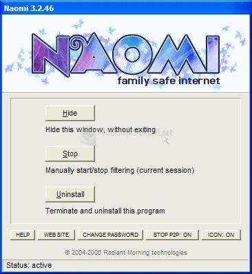 Pantallazo Naomi