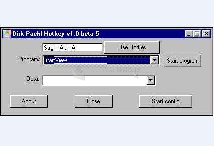 Pantallazo DP HotKey