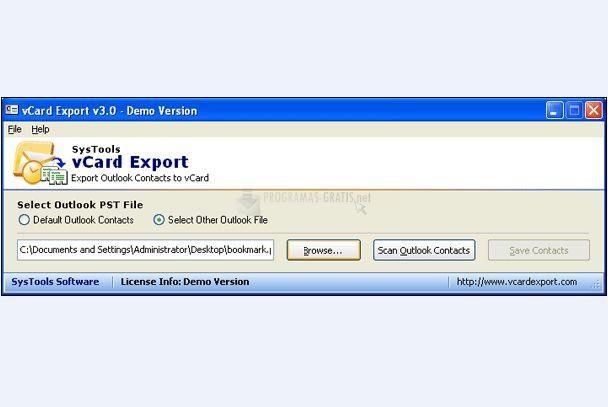 Foto vCard Export
