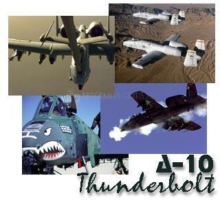 Pantallazo A-10 Thunderbolt