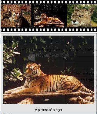 Pantallazo Tigra Hints