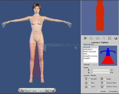 Pantallazo Virtual Fashion Basic Vista