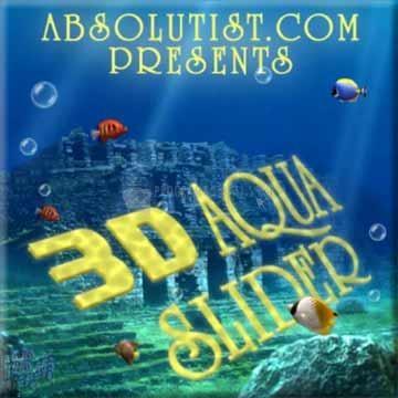 Pantallazo 3D Aqua Slider
