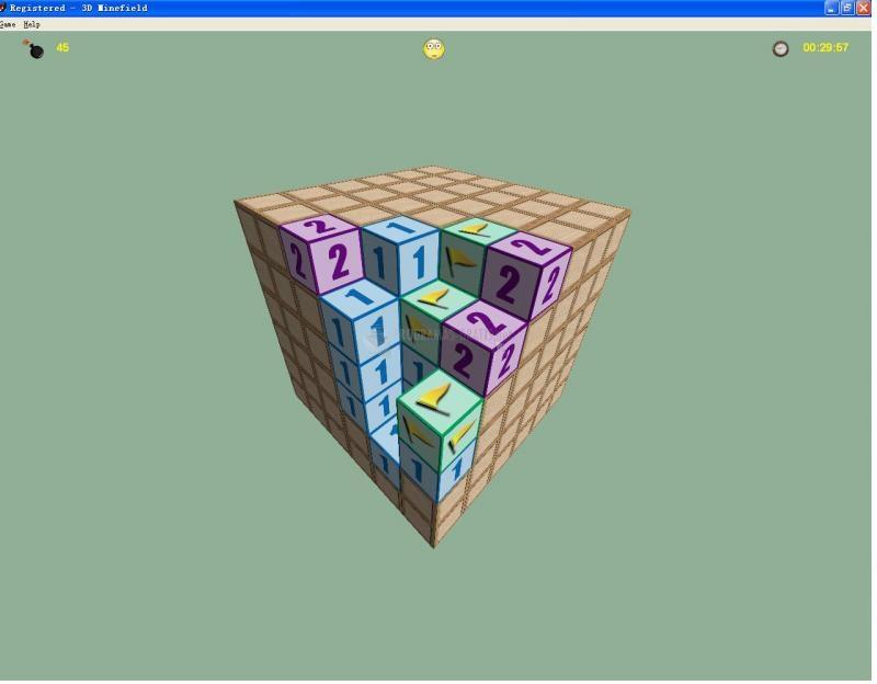 Foto 3D Minefield
