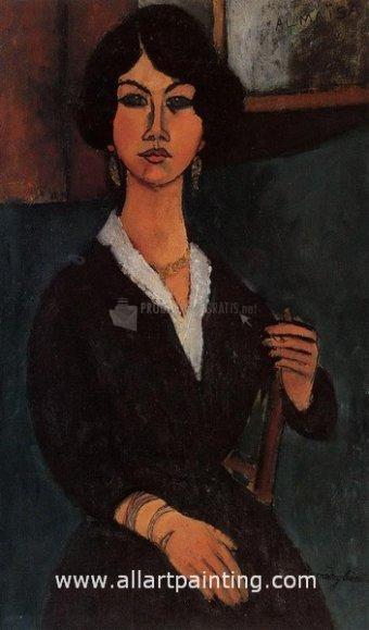 Foto Amedeo Modigliani Painting