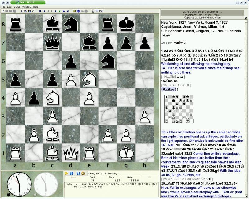 Pantallazo Jose Chess