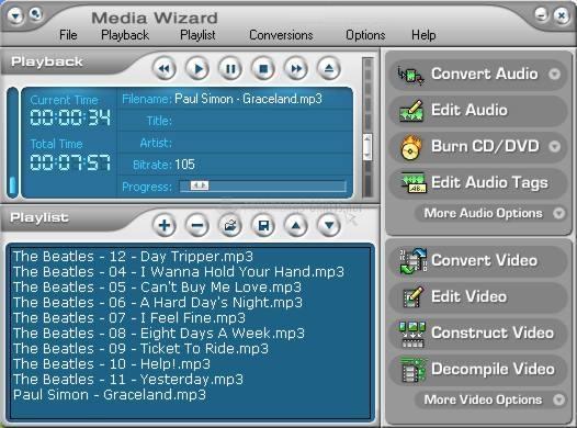 Pantallazo CDH Media Wizard