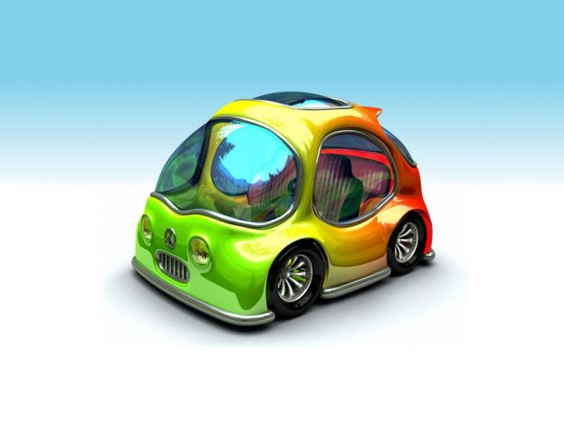 Pantallazo Mini coche multicolor