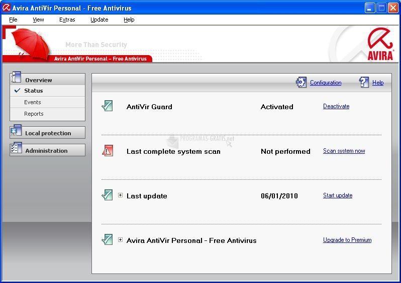 avira antivir personal free antivirus 9.0.0.66