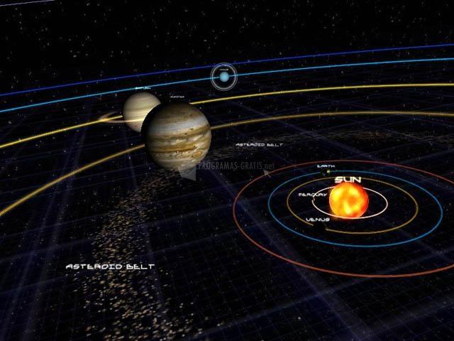 Pantallazo Solar System 3D ScreenSaver