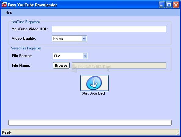 Pantallazo Easy YouTube Downloader
