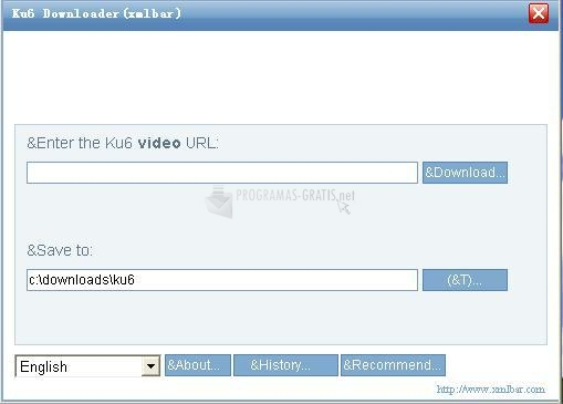 Pantallazo Ku6 Video Downloader