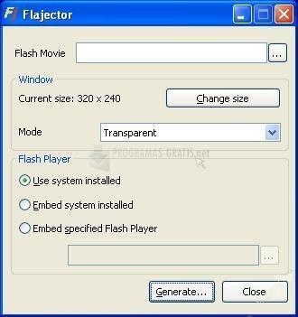 Pantallazo Flajector