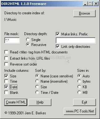 Pantallazo DIR 2 HTML