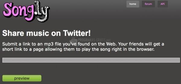 Pantallazo Song.Ly Firefox